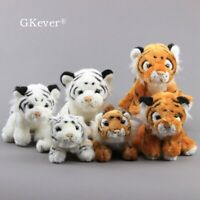 Simulated Tiger Plush Toy Stuffed Wild Aninmals Baby Toys Kids Children Gift