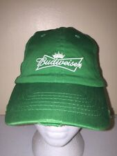 BUDWEISER BEER IRISH ST. PATRICK'S DAY VINTAGE Trucker Hat Baseball Cap Y