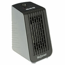 LifeSmart PTC Element 250W Cubicle Portable Electric Desktop Space Heater & Fan
