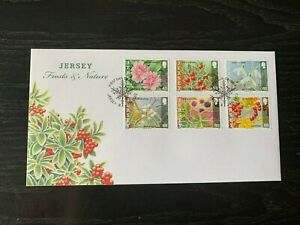 NEW21 - 2013 - JERSEY FDC's ~ FROSTS & NATURE