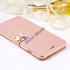 For Huawei P9 Lite Mini 2017 Butterfly PU Leather Flip Stand Wallet Case Cover