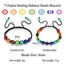 7 Chakra Healing Balance Beads Bracelet 1 PC Yoga Life Energy Bracelet Jewelry