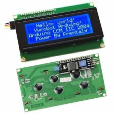 New IIC/I2C/TWI/SPI Serial Interface2004 20X4 Character LCD Module Display Blue