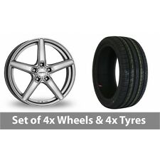 "4 x 18"" Dezent RN Special Offer Alloy Wheel Rims and Tyres -  245/50/18"