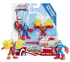 Playskool Heroes Marvel Super Hero Adventures Captain America & Marvel's Falcon