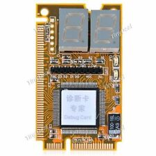 TechByte Mini PCI / Mini PCI-E / LPC 2-Digit Laptop Debug Testing Card Tester