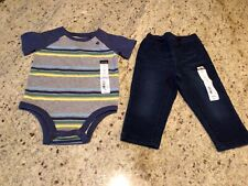 Baby Boy Outfit Size 9 Months By Okie Dokie NWT