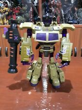 TRANSFORMERS ANIMATED DELUXE CLASS DECEPTICON SWINDLE 2007