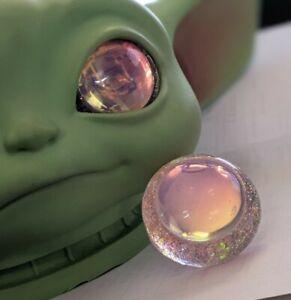 Custom Resin Eyes For Baby Yoda Vinyl Doll 34mm Eyes