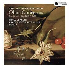 Xenia Löffler Akademie Für Alte Musik Berlin - C.P.E. Bach: Oboe Concer (NEW CD)
