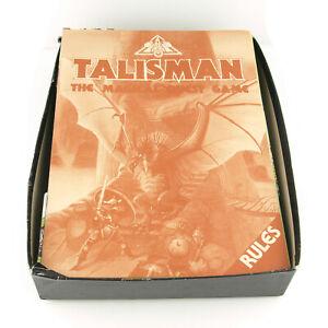 Talisman 2nd Ed. Board Game + Expansion Set - Vintage Games Workshop 1985 *Read*