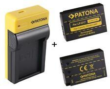 Ladegerät + 2 Akku für Canon EOS M3 M5 M6 750D 760D 8000D 77D LP-E17 Akkus Set
