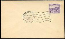 Pakistan 1963 Prime Minister Of Somalia H/S Postmark Cover #C29790