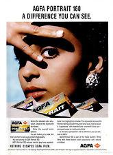 5x Agfa Portrait 160 XPS Professional Colour 120 Roll Films - Freezer Stored