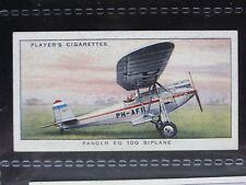 No.49 PANDER EG 100 BIPLANE - John Player & Son 1935