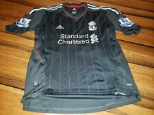Liverpool 2011-2012 Luis Suarez #7 Away Football Soccer Adidas Shirt Jersey sz M
