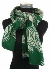 Cotton Blend Paisley Scarves & Wraps for Women