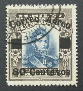 nystamps Chile Stamp # C2 Used Rare   S17x322