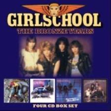 Girlschool - The Bronze Years (NEW 4 x CD)