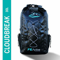 FE Active - 30L Eco friendly Waterproof Dry Bag Backpack Padded Shoulder Straps