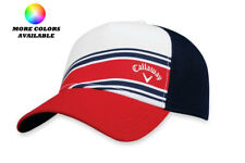 Callaway Men's Stripe Mesh Snapback Adjustable Golf Cap Hat - Select Color!