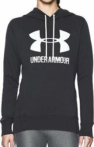 Under Armour Favourite Fleece Womens Pullover Hoody - Black