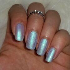 ICY BLUE Turquoise Shiny Nail Polish 15ml indie 5-free handmade cruelty-free