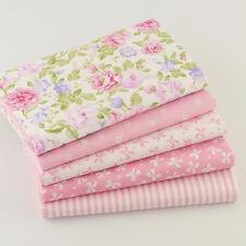 5pcs Tela de algodón Patrones de costura muñeca bebé ropa de tela GHVKHJ