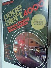 Page Alert 4000 Car Chicken House Change Machine Video Game Door Paging System