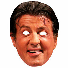 Sylvester Stallone Celebrity Masks Movie Costume Cut Out Party Mask Wholesale