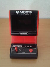 NINTENDO GAME&WATCH TABLETOP MARIO´S CEMENT FACTORY CM-72 VERY GOOD FULL WORKING