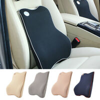 Lumbar Back Support Car Seat Office Home Chair Cushion Pillow Travel Memory Foam