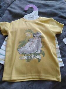 Primark Disney The Jungle Book Baby 12-18 Months T-shirt & Shorts Set
