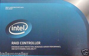 Intel RCS25ZB040LX RAID SSD Cache Controller, 6 Gb, SAS/SATA NEW OPEN BOX