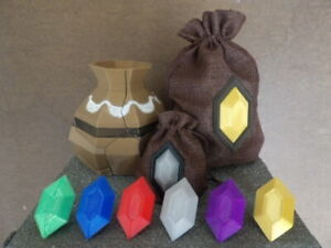 Zelda Inspired Rupees, Breakable Pot, Rupee Wallet, Legend of Zelda Gift Present