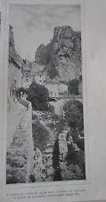 Le Bourg de Moustiers sainte marie  Image Print 1906