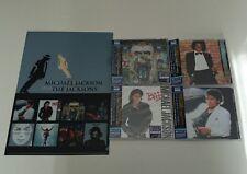 Michael Jackson Set 4 titles Japan Blu-spec CD w/OBI Promo Folder New!
