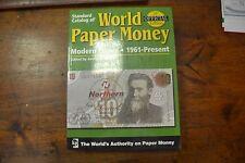 LIBRO CATALOGO WORLD PAPER MONEY MODERN ISSUE 1961 PRESENT KP CARTAMONETA