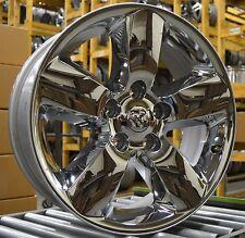 "NEW 20"" Dodge Ram 1500 2013 2014 2015 2016 Factory OEM Rim Wheel 2495 Chrome Set"