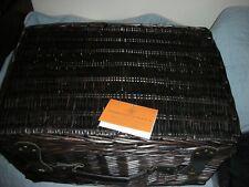 Thornton & France Traditional Gift Hamper Basket original packaging in Brown MD