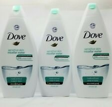 Dove Sensitive Skin Body Wash Shower Gel 500 ml  - PACK OF 3