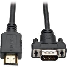 Tripp Lite HDMI to VGA Active Adapter Cable Low Profile HD15 M/M 1080p 10ft