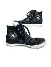 Black Converse Chuck Taylor All Star Studded Leather high top 07