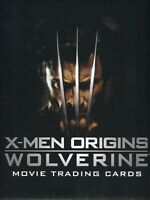 X-Men Origins: Wolverine Movie Card Album