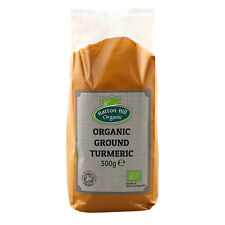 Organic Ground Turmeric (Haldi) Powder 500g Certified Organic