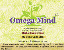 Omega Mind (For the Memory and Intelligence Power) 90 Tablets, 800 mg Each