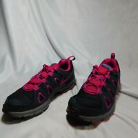 Womens Nike Air Alvord 10 Trail Running Shoes. Size 7.5. Pink - Grey - Blue