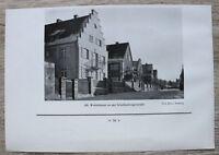 1 Blatt 1929 Bamberg Wohnhäuser Schellenbergerstraße Architektur Ofr 23x16cm