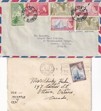 More details for rrr5170 bermuda 12 different covers postcards uk canada usa; 1937 onwards