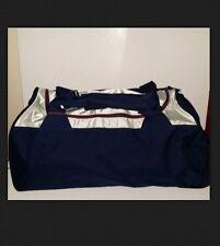 "Large Reebok Sports Gym / Duffle Travel Bag Navy Unisex Canvas 27"" X 13"""